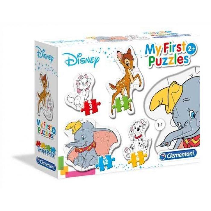 Clementoni Moje prvé puzzle Disney zvieratká
