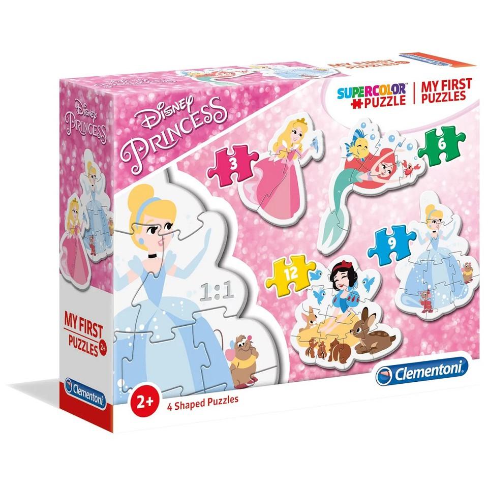 Clementoni Moje prvé puzzle Princezné