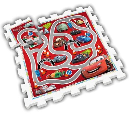 Mäkké puzzle bloky Cars