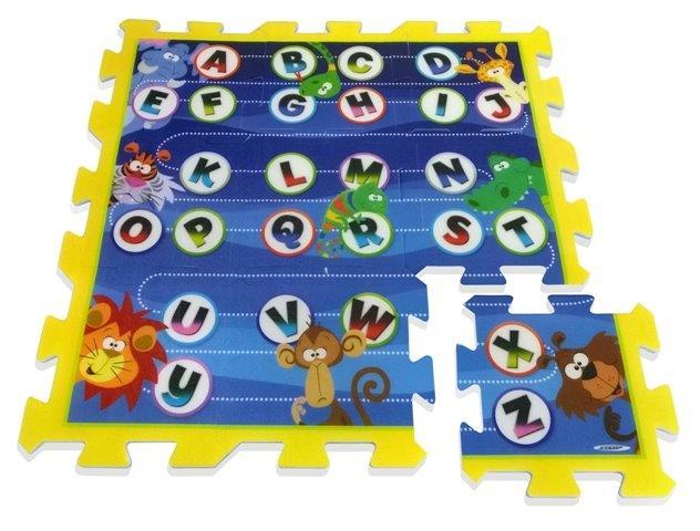 Mäkké puzzle bloky Džungla