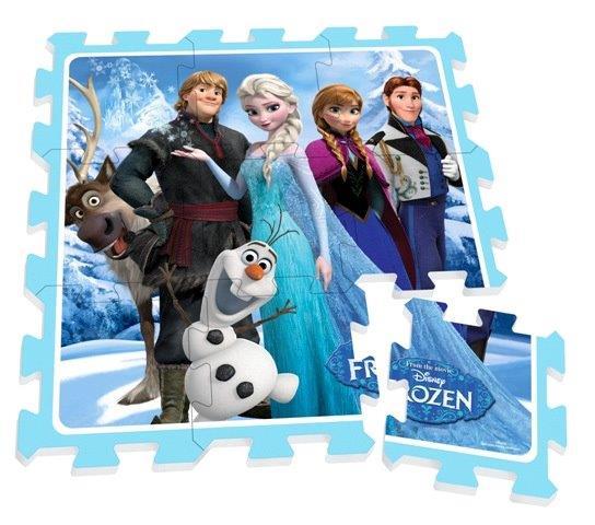 Mäkké puzzle bloky Frozen