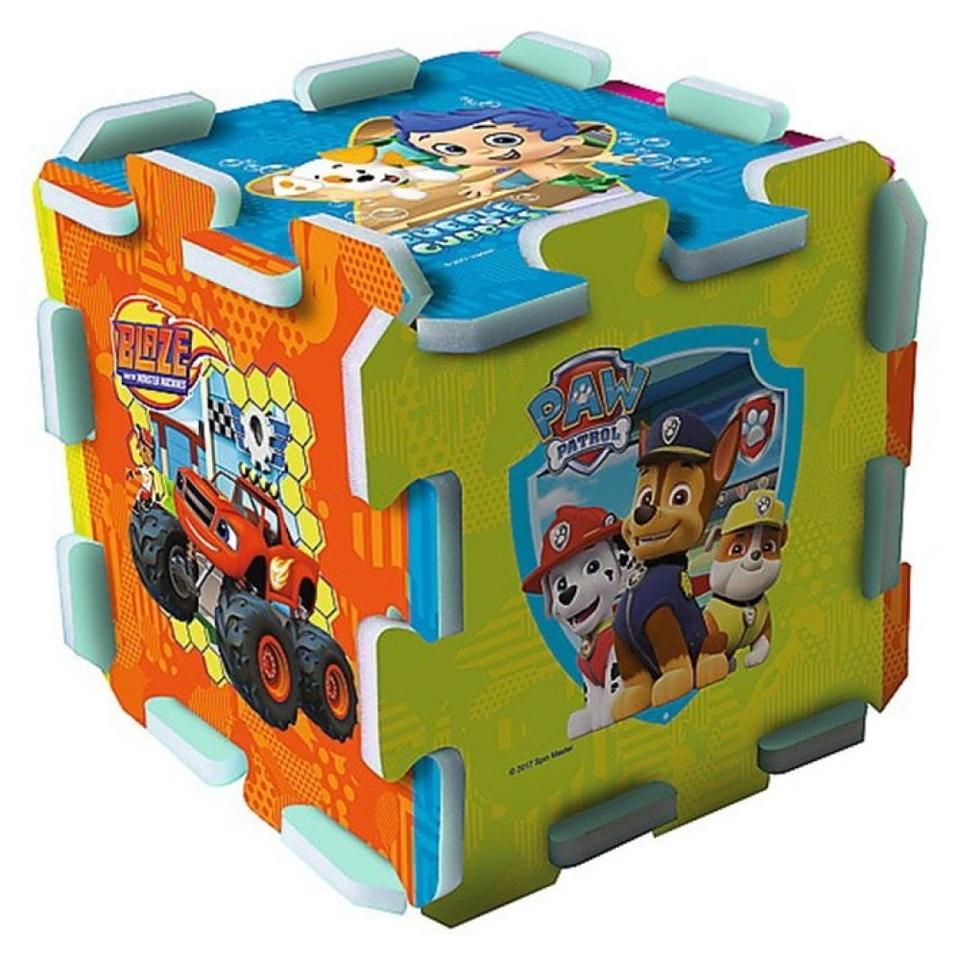 Mäkké penové puzzle Paw Patrol 8ks