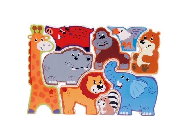 Playgo Puzzle Safari zvieratká
