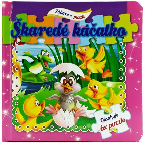 Zábava s puzzle Škaredé káčatko