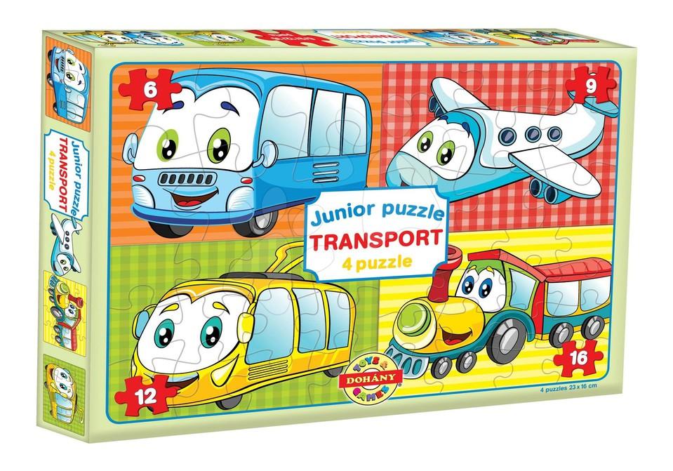 Dohány Junior puzzle 3druhy