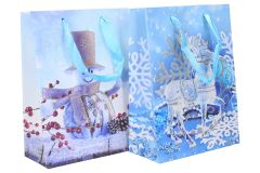 Darčeková taška Vianočná 18x24x8,5cm