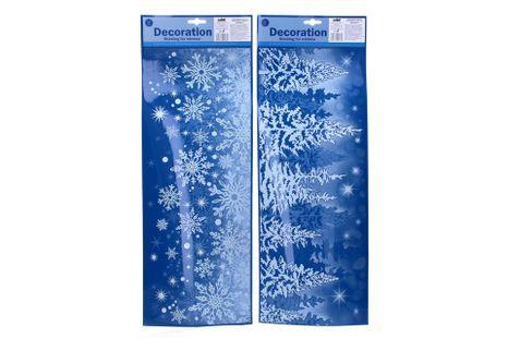 Vianočná nálepka 53x21cm