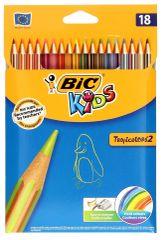 BIC Kids Tropicolors Farebné ceruzky 18 ks