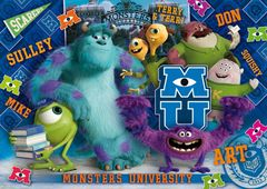 Clementoni Puzzle 104 3D Monsters University