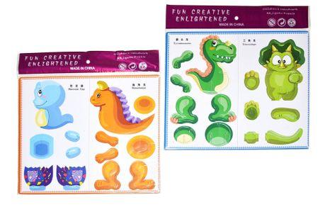Puzzle 3D Dinosaurus