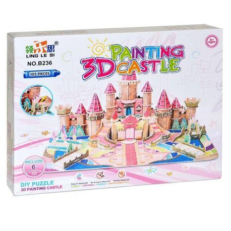 Puzzle 3D Hrad
