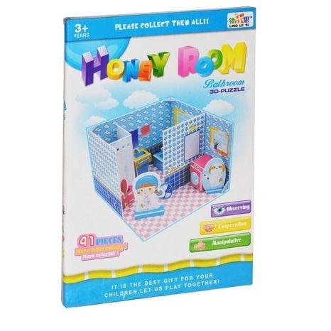 Puzzle 3D Kúpeľňa