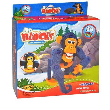 Puzzle 3D Šimpanz
