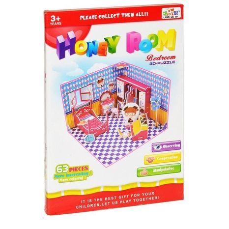 Puzzle 3D Spálňa