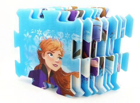 Mäkké penové puzzle Frozen 8ks
