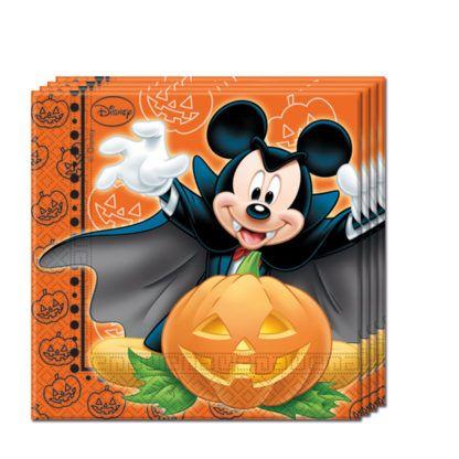 Servítky Mickey Halloween 33x33cm 20ks