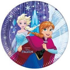 Taniere Frozen Snehové vločky 23cm 8ks