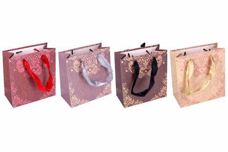 Darčeková taška ornamenty 14x7x15cm