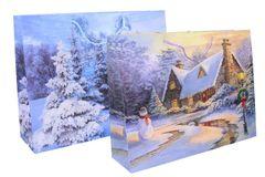 Darčeková taška Vianočná 49x37,5x14cm