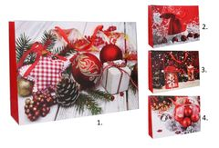 Darčeková taška Vianočná 44x31x12cm