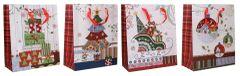 Darčeková taška Vianočná 32x26x12cm