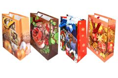 Darčeková taška Vianočná 23x18x9cm