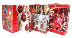 Darčeková taška Vianočná 18x24cm