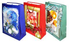 Darčeková taška vianočná 30x42x12cm