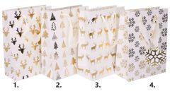 Darčeková taška Vianočná 23,5x17,5x8cm