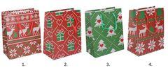 Darčeková taška Vianočná 23x18x10cm