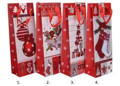 Darčeková taška Vianočná 36x12x8cm