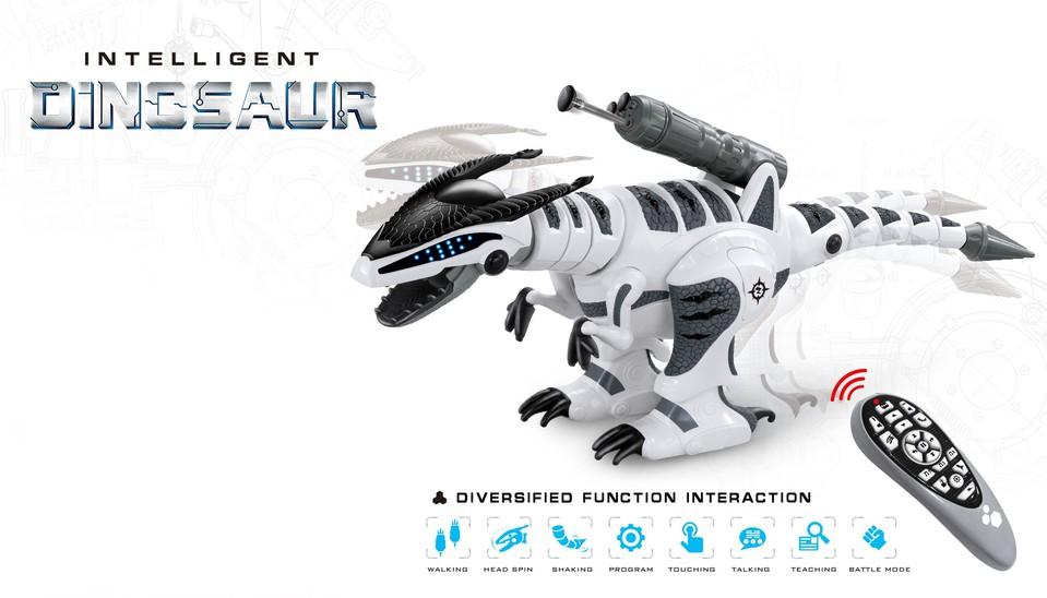 Inteligentný dinosaurus RC 64 cm
