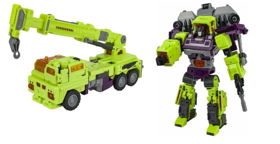 Robot Stavebné auto 2v1 - žeriav