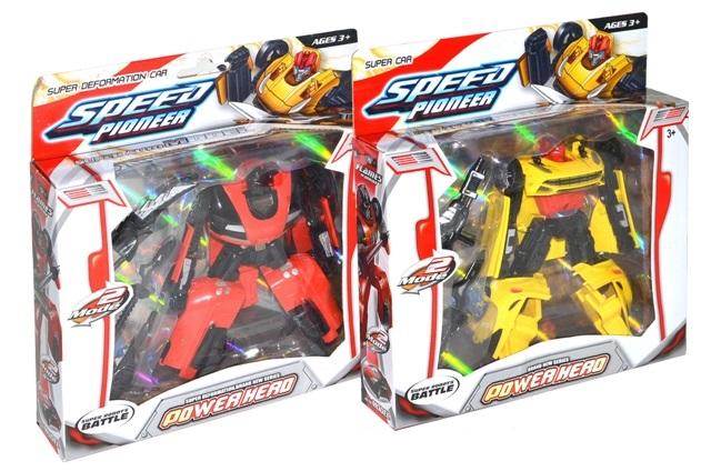 Robot Transformers 15cm - žltá