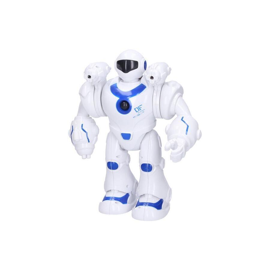 Robot Yobi strieľajúci s efektmi 25cm