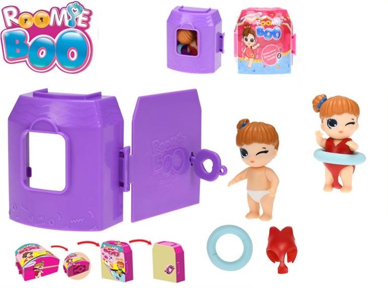 Roomie Boo bábika s doplnkami v domčeku