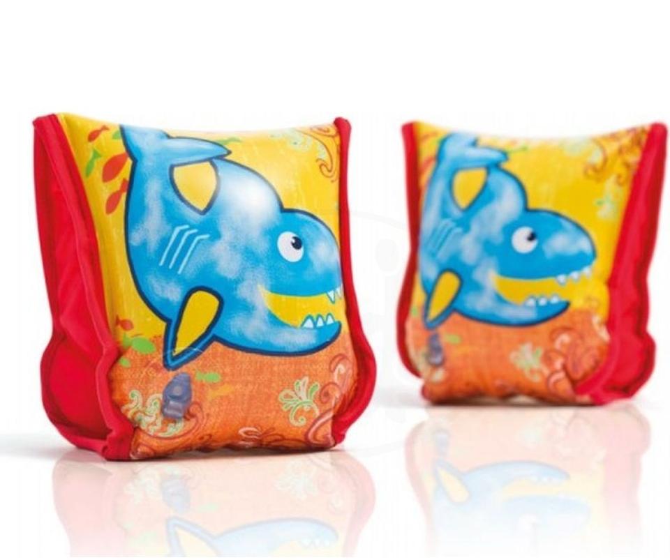 Intex 56659 Textilné rukávniky žralok 23x18cm