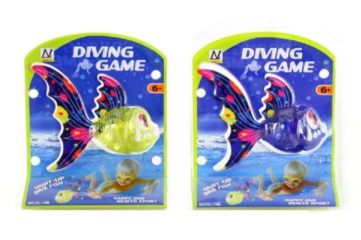 Ryba na potápanie 15x13,5cm