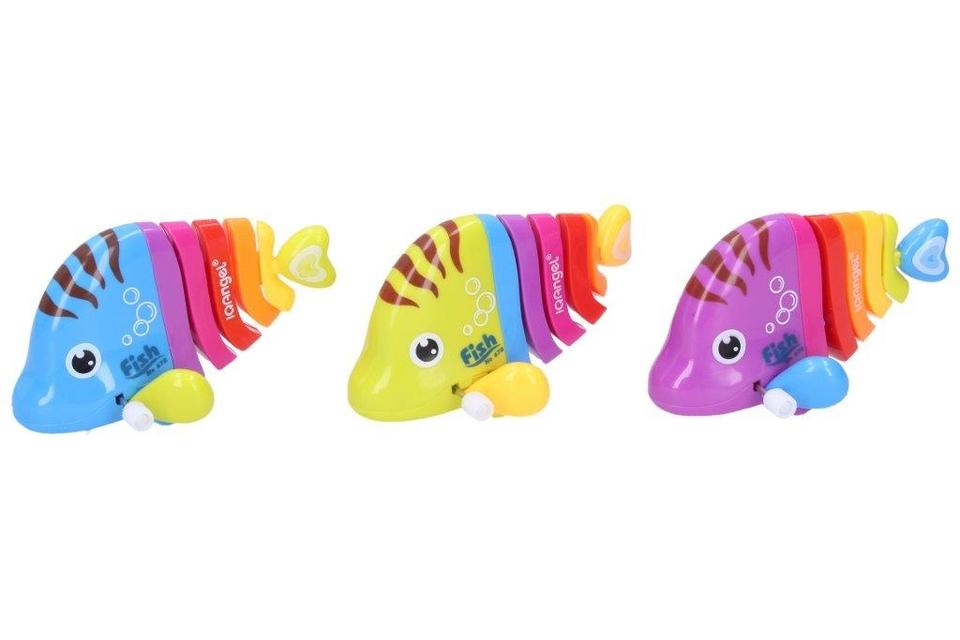 Ryba farebná na naťahovanie 12cm