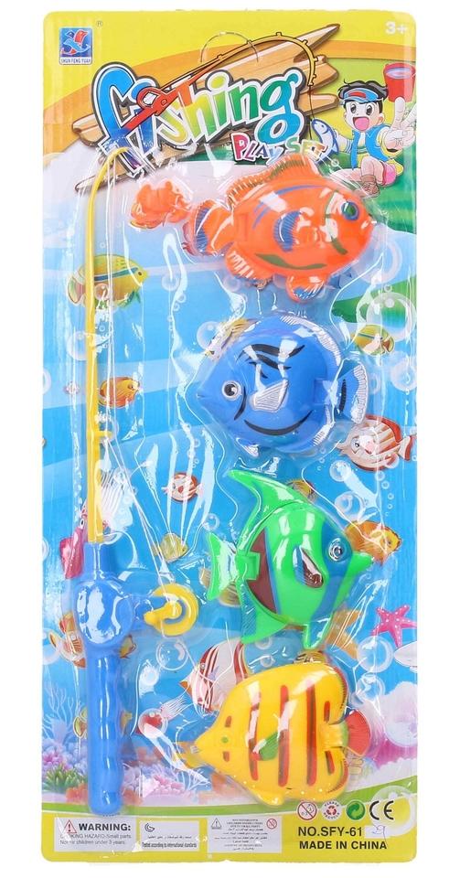 Lovenie rybičiek na magnet