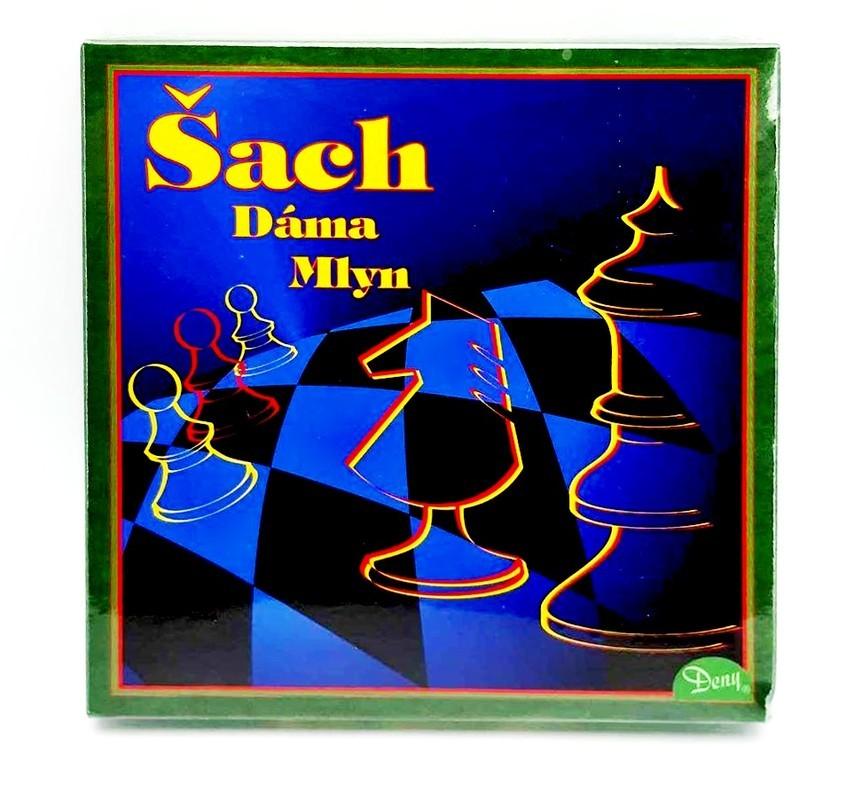 Šach,Dáma,Mlyn