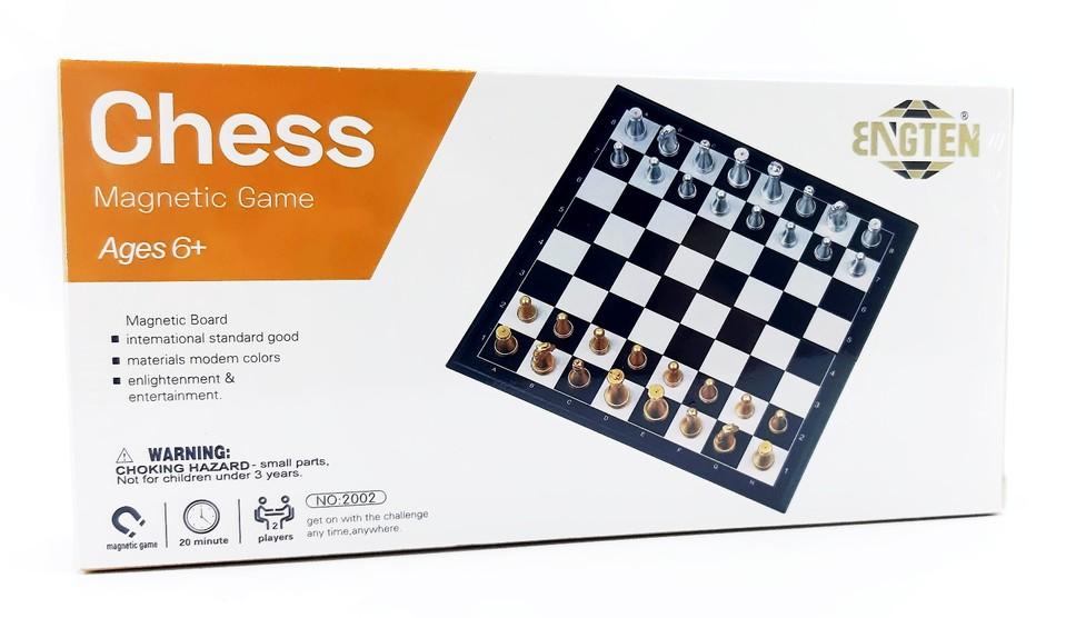 Šachy magnetická hra 20x20cm