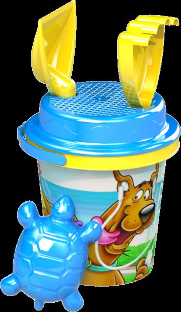 Detský kýblik set Scooby-Doo 5ks,14cm