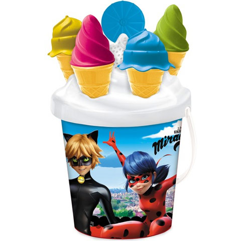 Sada do piesku Miraculous zmrzlinová súprava