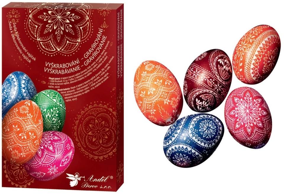 Sada na dekorovanie vajíčok - gravírovanie