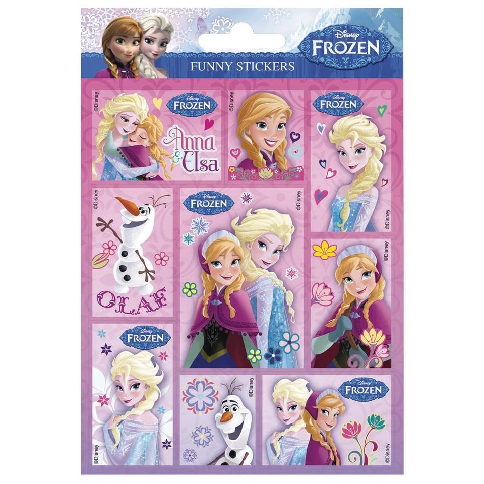 Samolepky Frozen 16x12cm