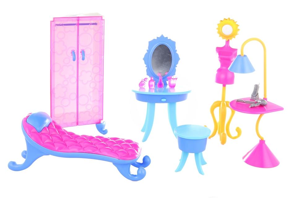 Nábytok pre bábiku šatník