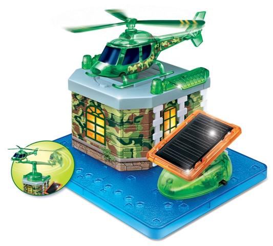 Stavebnica solárny Vrtuľník