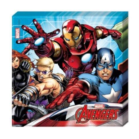 Servítky Avengers 33x33cm 20ks