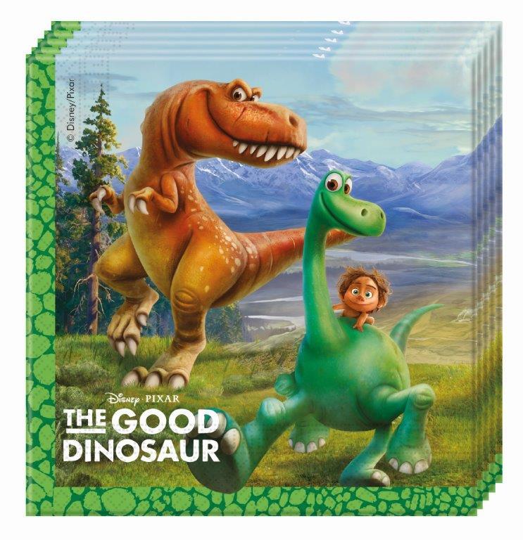 Servítky Dinosaurus 33x33cm 20ks